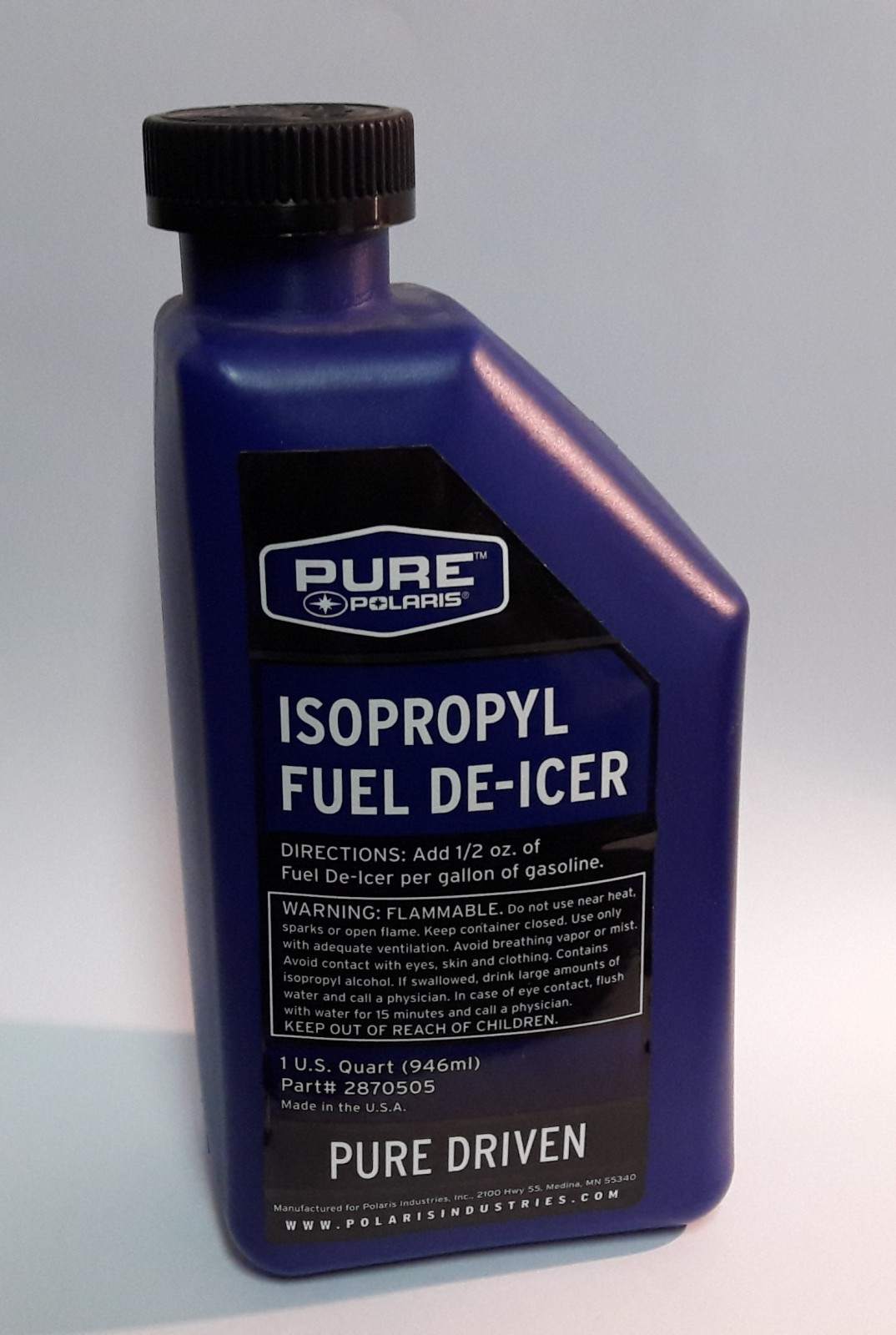 ISOPROPYL FUEL DE-ICER QT