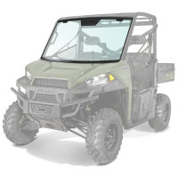RANGER 900 & 900 CREW Lock & Ride Pro-Fit Fixed Glass Windshield