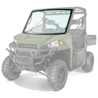 RANGER 900 & 900 CREW Lock & Ride Pro-Fit Glass Windshield