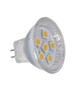 LED-pære spot - MR 11, G4, 3 watt