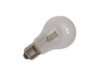LED-pære - E27, 1 watt
