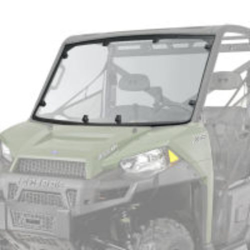 RANGER 900 & 900 CREW Lock & Ride Pro-Fit Hard Coat Poly Windshield